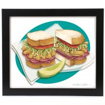 Primanti's Framed